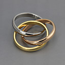 זול Fashion Ring-בגדי ריקוד נשים טבעת הטבעת - מצופה כסף מותאם אישית, אופנתי מידה אחת One Size צבע מסך עבור Party