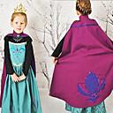 cheap Movie & TV Theme Costumes-Princess / Fairytale / Anna Cosplay Costume Movie Cosplay Blue Dress Halloween / New Year Cotton