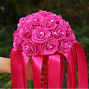"cheap Wedding Flowers-Wedding Flowers Bouquets Wedding Elastic Satin Satin 16.14""(Approx.41cm)"
