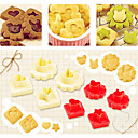 hesapli Çerez Araçları-Bakeware araçları Plastik Kek Pasta Kalıpları 1pc