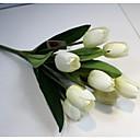 billige Kunstig Blomst-Kunstige blomster 1 Gren Enkel Stil Tulipaner Bordblomst