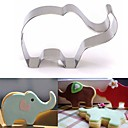 cheap Cookie Tools-Elephant Animal Cookie Cutter Stainless Steel Cake Baking Pastry Mould