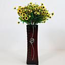 hesapli Suni Çiçek-Yapay Çiçekler 1 şube Pastoral Stil Papatyalar Masaüstü Çiçeği
