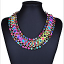 cheap Necklaces-Women's Choker Necklace - Bohemian, European, Fashion Screen Color Necklace For