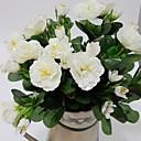 hesapli Suni Çiçek-Yapay Çiçekler 1 şube minimalist tarzı Açelya Masaüstü Çiçeği