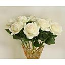 halpa Tekokukat-Keinotekoinen Flowers 1 haara European Style Ruusut Pöytäkukka