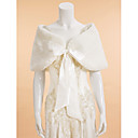cheap Wedding Wraps-Sleeveless Faux Fur Wedding / Party Evening Wedding  Wraps With Capelets