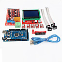 baratos Artigos de Forno-rampas controlador Impressora 3D 1.4 + mega2560 R3 + 5 x a4988 + lcd12864 placa controladora para impressora 3D