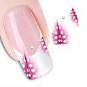 cheap Nail Jewelry-1 pcs Abstract / Fashion Water Transfer Sticker / 3D Nail Stickers Lovely Daily