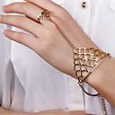 preiswerte Moderinge-Geometrisch Ketten- & Glieder-Armbänder - damas, Einzigartiges Design, Party, Modisch Armbänder Gold Für Party Geschenk Valentinstag