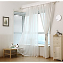 billige Originale lamper-Stanglomme Propp Topp Fane Top Dobbelt Plissert To paneler Window Treatment Moderne Europeisk Middelhavet Neoklassisk Land, Trykk &