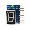 """halpa Moduulit-1-numeroinen yhteinen anodi 0.56 """"digitaalinen näyttö moduuli arduino + vadelma pi - sininen"""