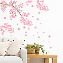 cheap Wall Stickers-Landscape Romance Fashion Shapes Florals Transportation Fantasy Botanical Cartoon Holiday Wall Stickers Plane Wall Stickers Decorative