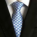 זול אביזרים לגברים-עניבת צווארון - יצירתי מסוגנן פאר משובץ (רשת) קלסי מסיבה חתונה בגדי ריקוד גברים