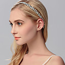 cheap Jewelry Boxes-Rhinestone Headbands 1 Wedding / Special Occasion / Casual Headpiece