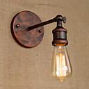 זול פמוטי קיר-סגנון חלוד / בקתה מנורות קיר מתכת אור קיר 220V / 110V 40W / E26 / E27