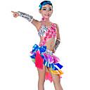 abordables Accesorios de Baile-Baile Latino Accesorios Rendimiento Poliéster Borla Vestido / Mangas / Para la Cabeza / Danza Latina