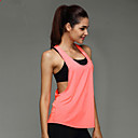 cheap Running Shirts, Pants & Shorts-Women's Workout Tank - Orange, Purple, Pink Sports Sexy Sweatshirt / Tank Top / Top Yoga, Exercise & Fitness, Leisure Sports Sleeveless Activewear Quick Dry, High Breathability (>15,001g), Breathable