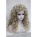 cheap Synthetic Half Wigs-Synthetic Wig Curly Synthetic Hair Blonde Wig Women's Capless