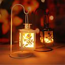 preiswerte Dekorative Objekte-Modern / Zeitgenössisch Edelstahl Kerzenhalters Kerzenhalter 1pc, Kerze / Kerzenhalter