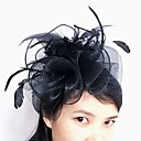 cheap Necklaces-Tulle / Feather / Net Fascinators / Headwear with Floral 1pc Wedding / Special Occasion Headpiece
