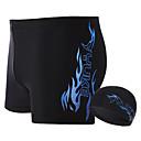 baratos Roupas de Banho Esportivas-Homens Shorts de Natação Prova-de-Água, Resistente ao cloro Terylene Roupa de Banho Roupa de Praia Bermuda de Surf Reativo Natação