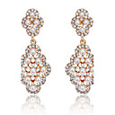 cheap Earrings-Women's Crystal Drop Earrings - Pearl, Cubic Zirconia Gold / Silver For Party