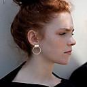 preiswerte Modische Ohrringe-Damen Ohrstecker - Personalisiert, Simple Style Silber / Golden Für Hochzeit / Party / Alltag