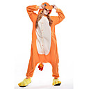 cheap Magnet Toys-Adults' Kigurumi Pajamas Dragon Onesie Pajamas Costume Polar Fleece Orange Cosplay For Animal Sleepwear Cartoon Halloween Festival / Holiday / Christmas