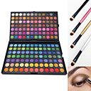 preiswerte Lidschatten-168 Farben Lidschatten / Puder / Make-up Pinsel Auge Wasserdicht Glitter Lipgloss Farbiger Lipgloss Alltag Make-up / Halloween Make-up / Party Make-up Bilden Kosmetikum / Matt / Schimmer