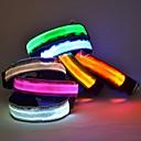 hesapli dövme çıkartma-Kedi / Köpek Yakalar LED Işıklar / Ayarlanabilir / İçeri Çekilebilir Naylon Mavi / Pembe / Herhangi Bir Renk