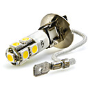 cheap Car Fog Lights-2pcs H3 Car Light Bulbs 7W SMD 5050 680lm 7 LED Fog Light