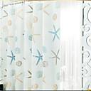 hesapli Duş Perdeleri-Duş Perdeleri Modern PEVA Geometrik Makine Yapımı