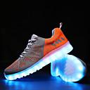 olcso Férfi sportcipők-Férfi Light Up cipők Tüll Tavasz / Ősz Kényelmes Csúszásmentes Narancssárga / Piros / Zöld