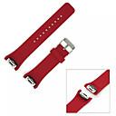 baratos Smartwatch Acessórios-novo silicone pulseira pulseira de substituição ajustável para Samsung Galaxy engrenagem s2 (SM-R720) clássico
