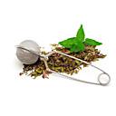 رخيصةأون أغطية مخدات-الشاي المساعد على التحلل الفولاذ المقاوم للصدأ إبريق الشاي المساعد على التحلل مجال شبكة مصفاة الشاي الكرة الشاي مقبض