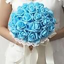 """hesapli Düğün Çiçekleri-Düğün Çiçekleri Buketler Düğün / Parti / Gece Köpük 11.8""""(Yaklaşık 30cm)"""
