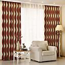 cheap Blackout Curtains-Blackout Curtains Drapes Kids Room Stripe Polyester Jacquard