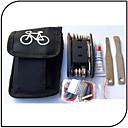 preiswerte Tire Repair Kits-Flickzeug Wasserdicht, Praktisch Freizeit-Radfahren / Radsport / Fahhrad / Kunstrad Edelstahl / ABS Schwarz - 1 pcs