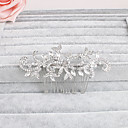 cheap Party Headpieces-Rhinestone Hair Combs with 1 Wedding / Special Occasion / Casual Headpiece