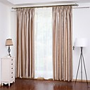 "cheap Slipcovers-Custom Made Energy Saving Curtains Drapes Two Panels 2*(42W×84""L) Gold / Embossed / Bedroom"