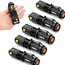 cheap Flashlights & Camping Lanterns-UltraFire SK68 LED Flashlights / Torch LED 2000lm 3 Mode Zoomable / Adjustable Focus / Impact Resistant Camping / Hiking / Caving /