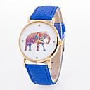 abordables Relojes de Moda-Mujer Reloj de Pulsera Cuarzo Gran venta Piel Banda Analógico Encanto Moda Negro / Blanco / Azul - Azul Rosa Azul Claro