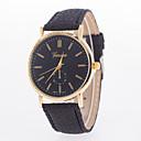 preiswerte Modische Uhren-Damen Armbanduhr Schlussverkauf Leder Band Charme / Modisch Schwarz / Weiß / Blau