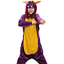 cheap Fidget Spinners-Adults' Kigurumi Pajamas Dragon Onesie Pajamas Coral fleece Cosplay For Men and Women Animal Sleepwear Cartoon Festival / Holiday Costumes
