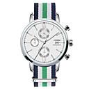 זול שעוני ספורט-SINOBI בגדי ריקוד גברים שעון יד לוח שנה / כרונוגרף / עמיד במים מתכת אל חלד להקה קסם ירוק