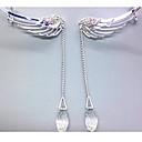 preiswerte Modische Ohrringe-Damen Ohr-Stulpen - Strass Silber Für Hochzeit / Party / Alltag