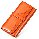 cheap Softshell, Fleece & Hiking Jackets-Women's Bags Cowhide Wallet for Event / Party / Sports / Formal Fuchsia / Red / Light Brown