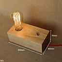 billige Original belysning-Øjenbeskyttelse Moderne / Nutidig Skrivebordslampe Træ / bambus Væglys 40W