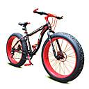 baratos Bicicletas-Bicicleta De Montanha Ciclismo 7 Velocidade 26 polegadas / 700CC Shimano Freio a Disco Duplo Garfo com Suspensão a Mola Manocoque Comum Liga de alumínio / Aço / #